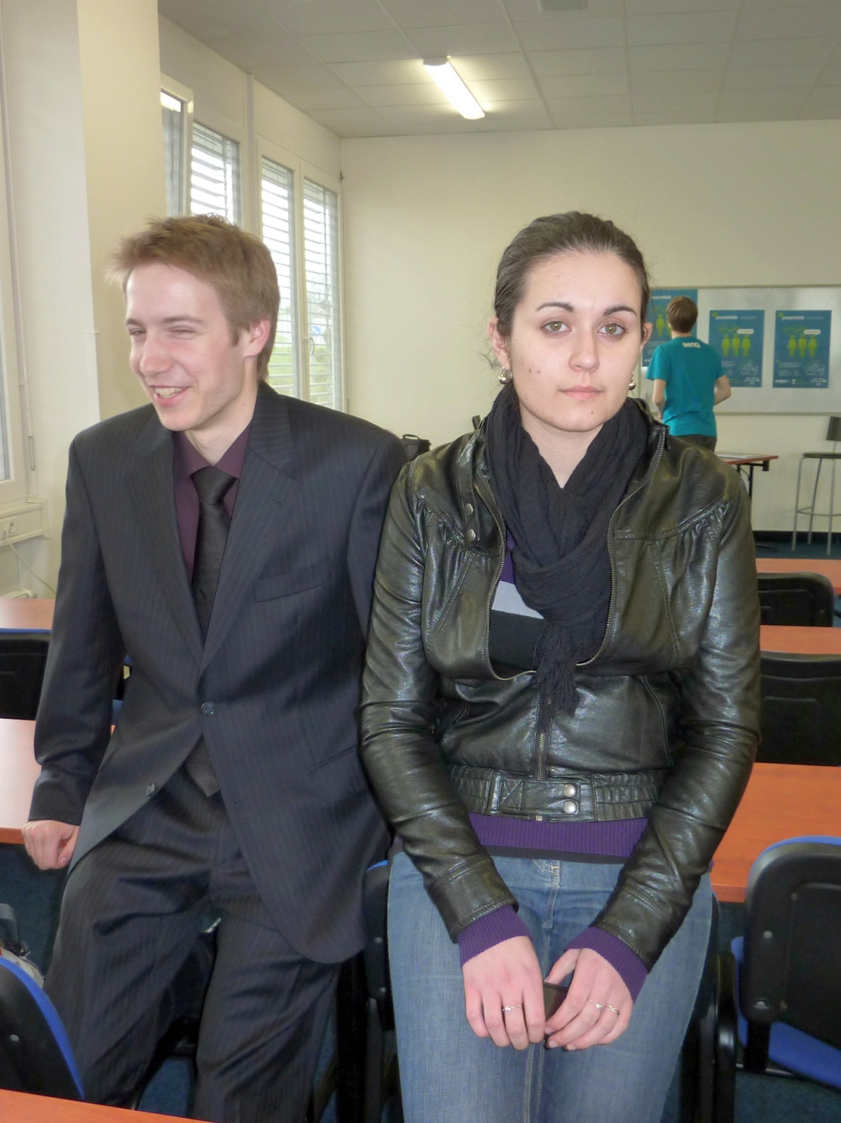 Prezentiada 2011: moderátoři finále Dan Pražák a Adéla Šrutová