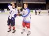 Hokejové utkání maturanti učitelé 2012