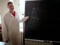 Žáci ZŠ Studánka přednáší v laboratořích Gymnázia Dašická 1083