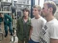 exkurze v pivovaru: sledují průběh biochemického děje