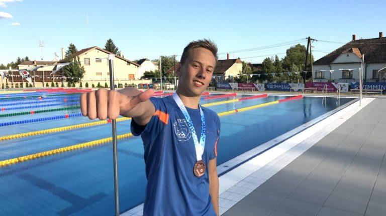 Jan Čejka: bronzová medaile na Evropském olympijský festivalu mládeže