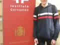 Daniel Orts v celostátním kole Soutěže ve španělském jazyce