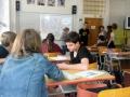 Stážistky z Francouzské aliance na naší škole