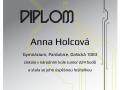 kategorie Junior: 11. místo  z 11 245 soutěžících Anna Holcová (6.B)