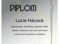 kategorie Junior: 56. – 57. místo z 11 245 soutěžících Lucie Hácová (6.B)