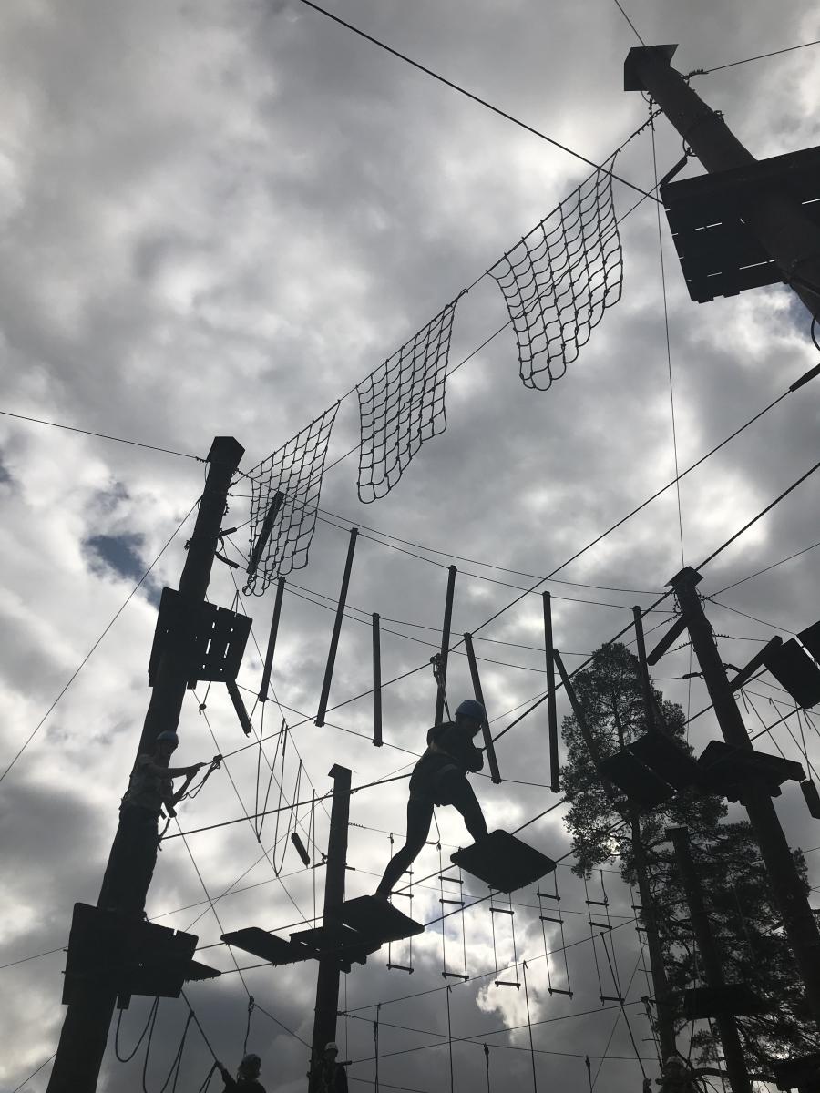 Adaptační pobyt Zbraslavice:  lanové centrum
