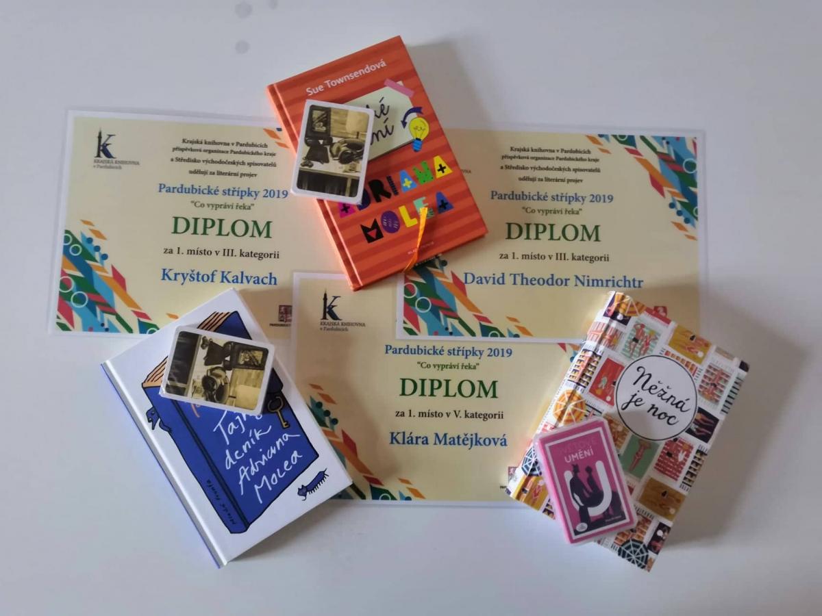 literarni uspechy: knihy