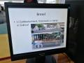monitor a na něm stánek Brezel z Jižních Tyrol