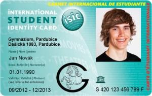 ISIC je celosvětově uznávaný doklad prokazující status studenta střední, vyšší odborné nebo vysoké školy a vybraných jednoletých pomaturitních studijních oborů. Průkaz vydává světová organizace ISIC Association pod záštitou UNESCO.