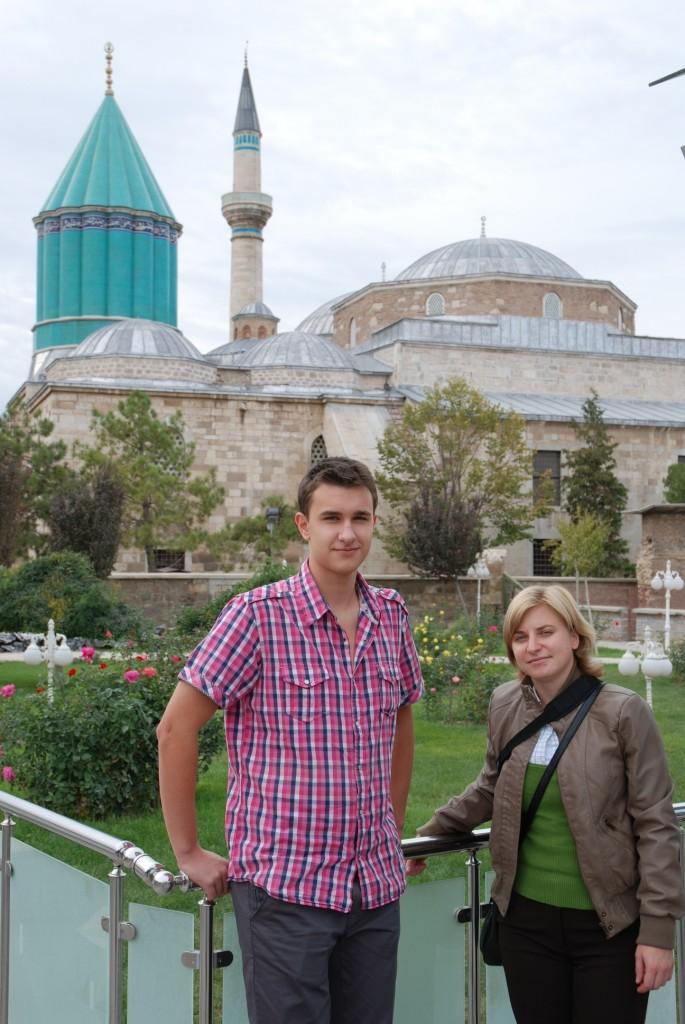 v Turecku (město Konya) se uskutečnila první schůzka/mobilita projektu Partnerství škol - Comenius