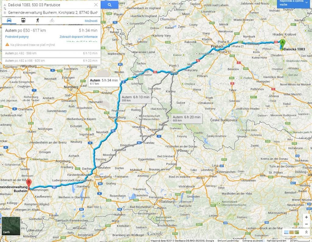 zdroj: Google maps