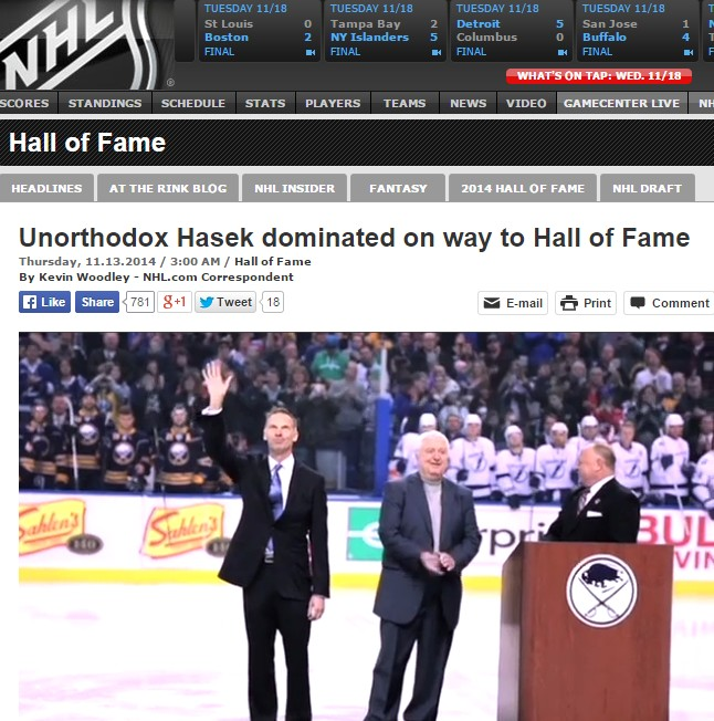 Hasek_Hall_of_Fame